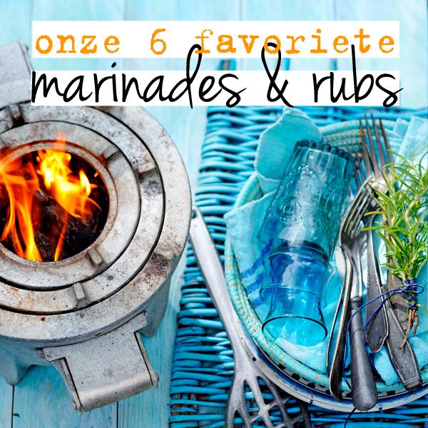 bbq marinades & rubs