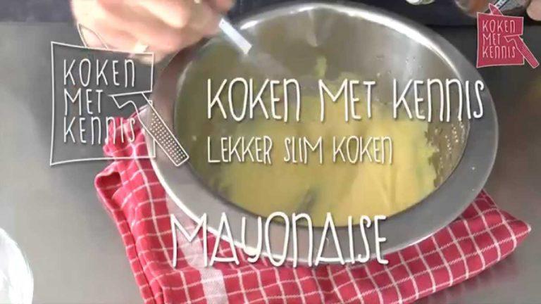 eke: geschift van mayonaise