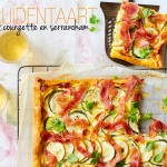 kruidentaart met courgette en serranoham   delicious