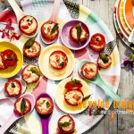 tomaten gevuld met citroenrisotto | delicious