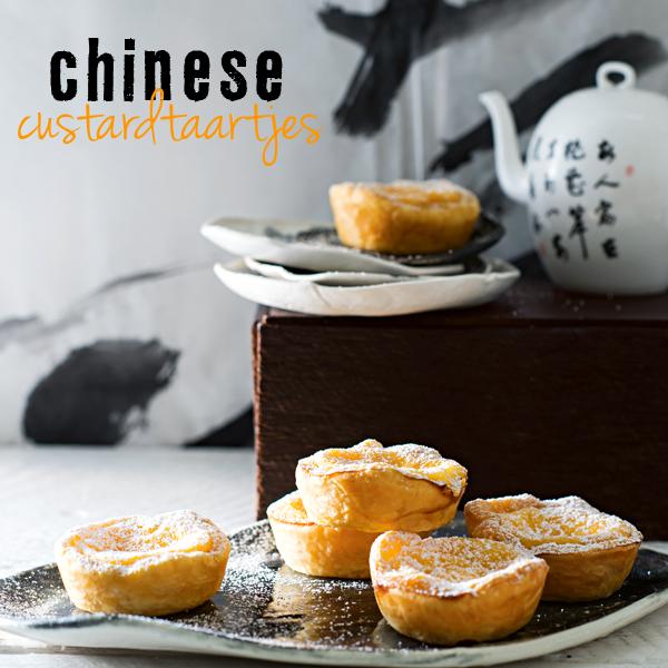 chinese custardtaartjes