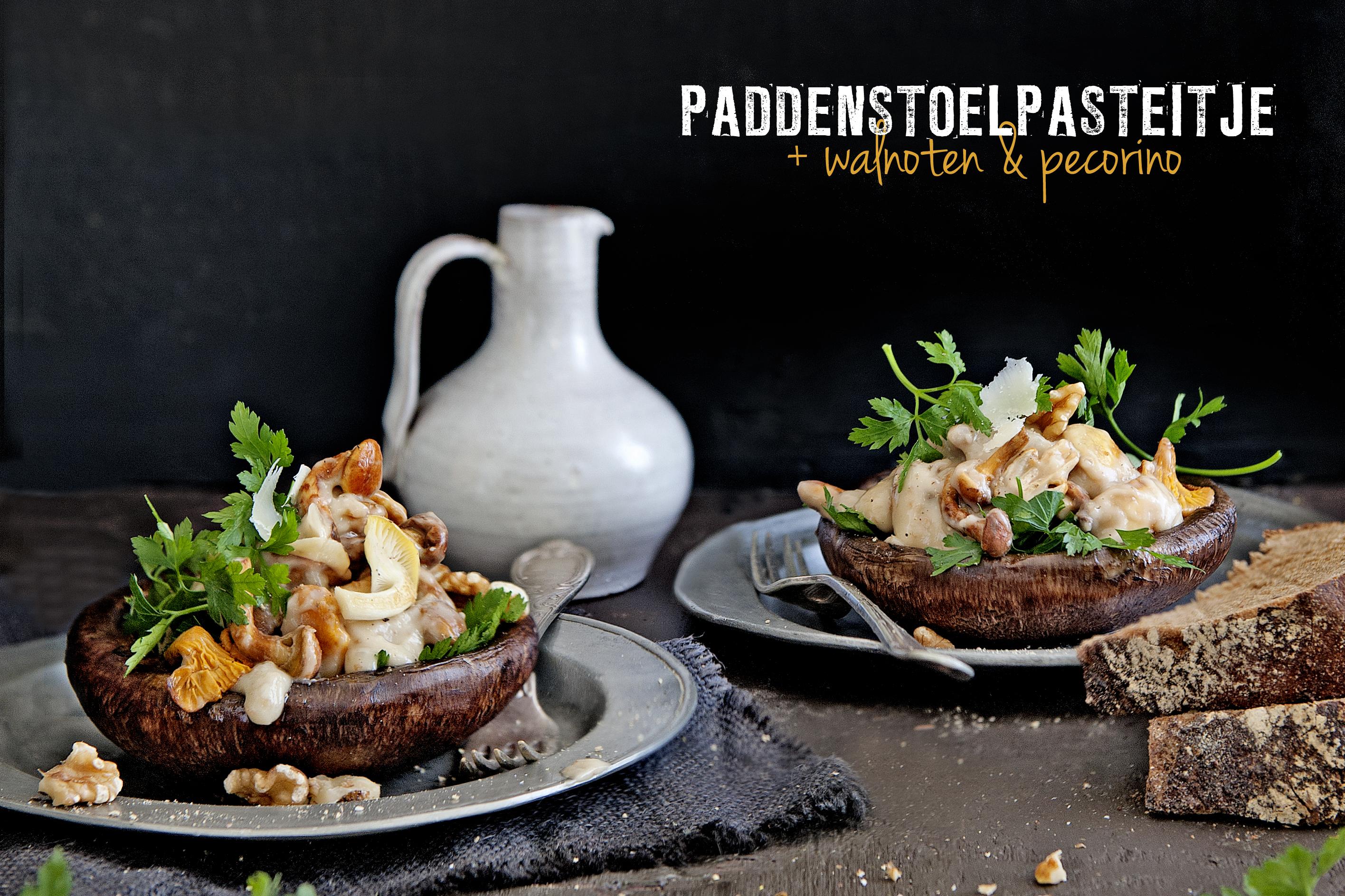 portobellopasteitje met ragout van paddenstoelen