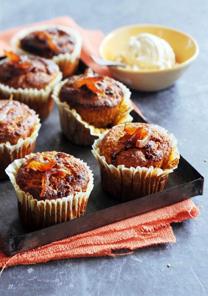 spicy wortelmuffins met hazelnoten en dadels - delicious