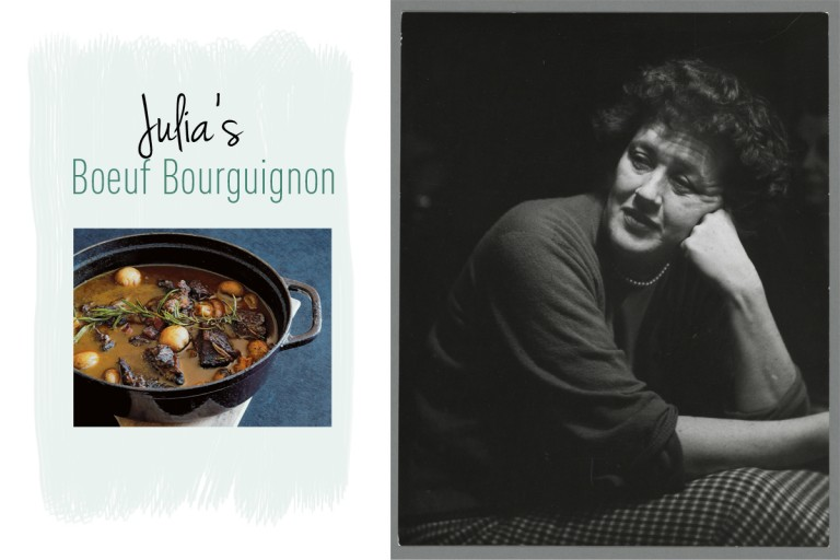 boeuf bourguignon van Julia Child