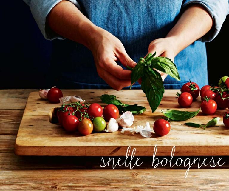 snelle bolognese