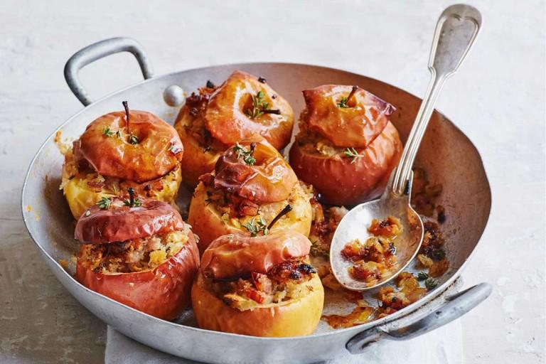 gevulde appels uit de oven