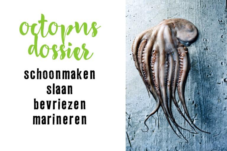 octopus schoonmaken en mals krijgen