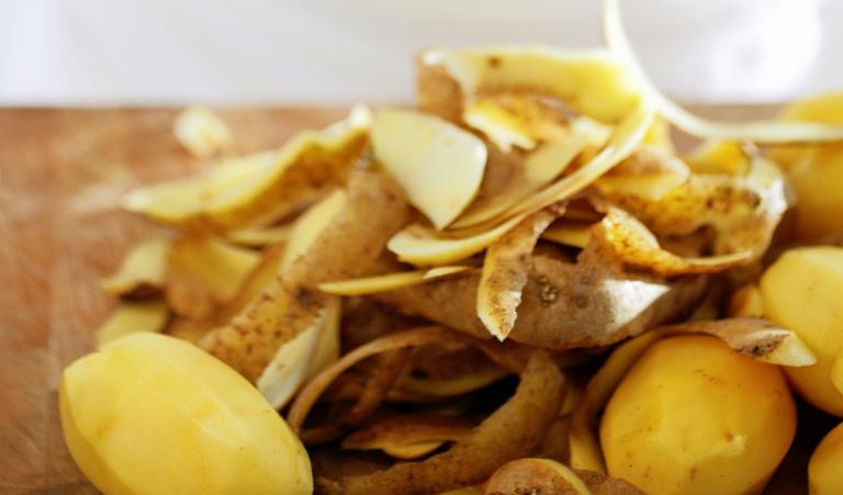 aardappelschillen frituren