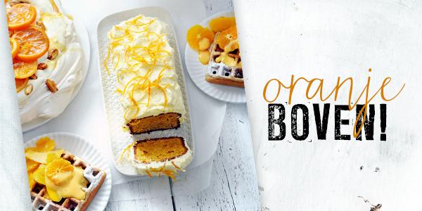 sinaasappelcake met jeneverfrosting