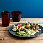 courgetti met citroenboter - delicious