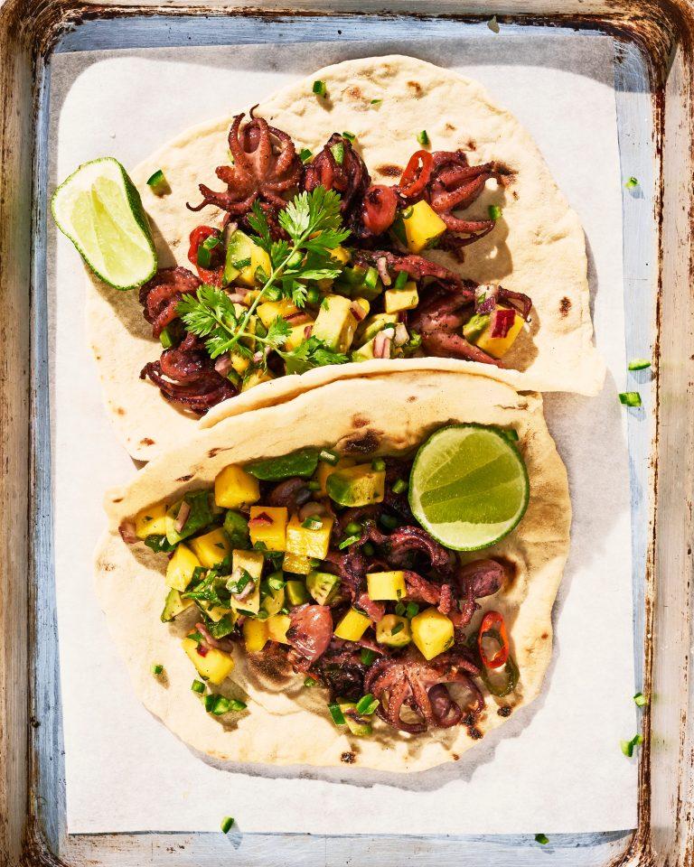 wat is het verschil tussen een taco en een tortilla? yvette van