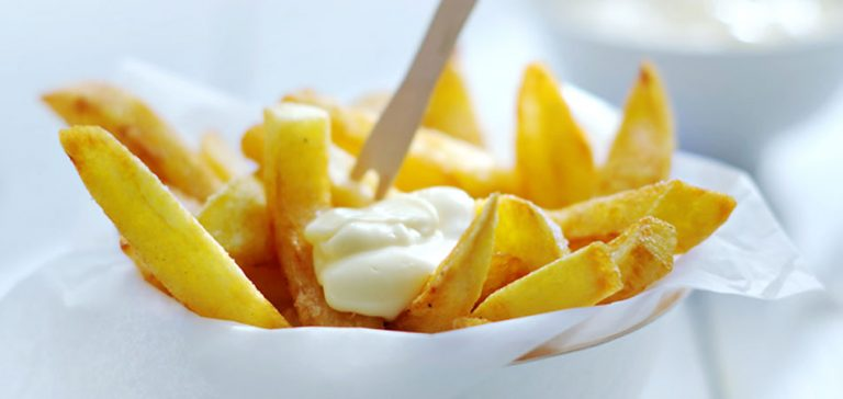 friet met mayonaise