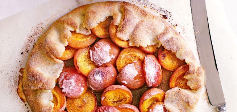 abrikozentaart