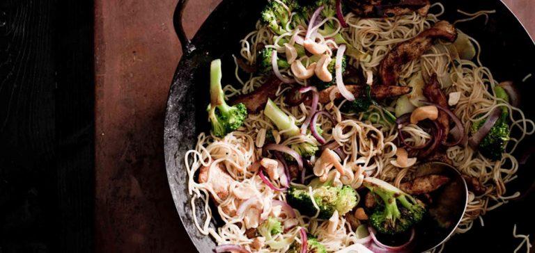 kantonese kip met broccoli