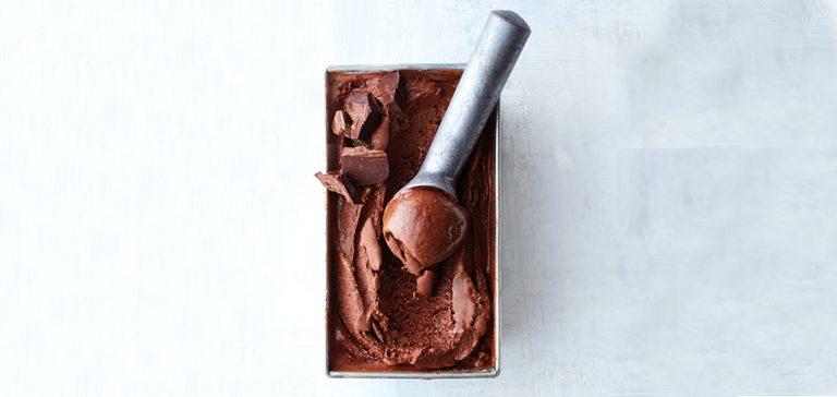 het beste chocoladeijs dat we ooit proefden