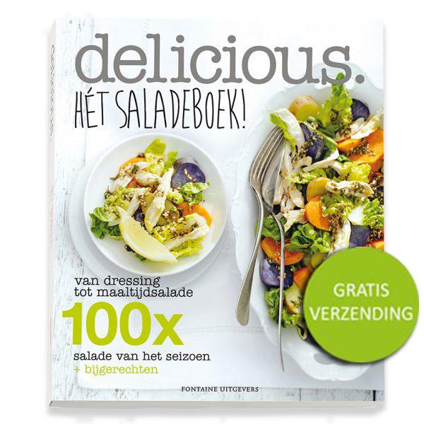 Afbeelding van Delicious. Hét Saladeboek!