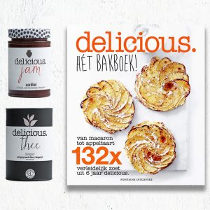 delicious. hét bakboek + thee + jam