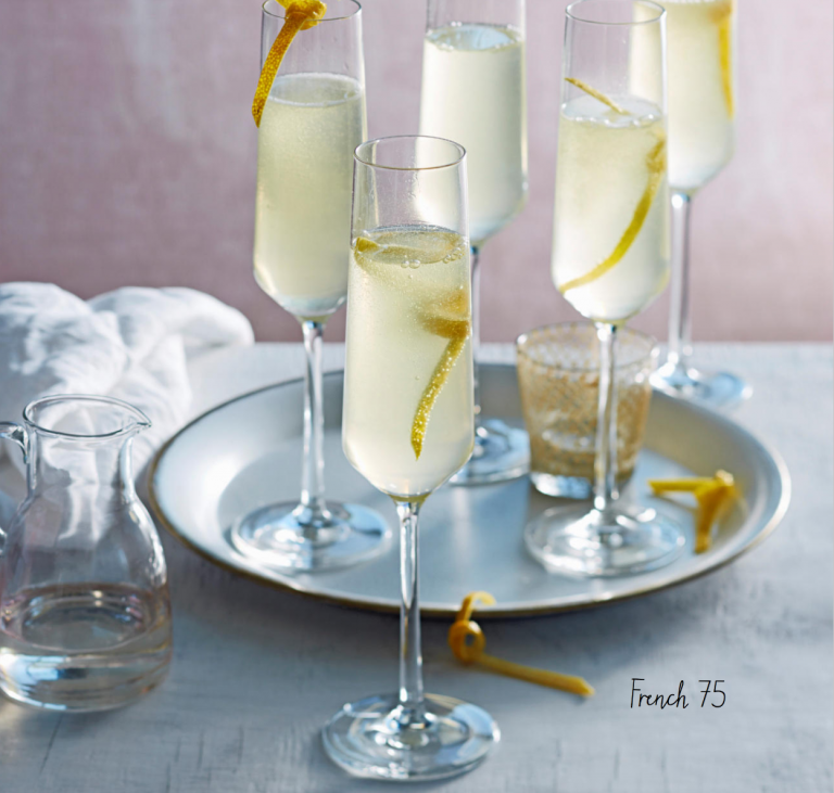 Een perfect alternatief voor champagne: french 75 cocktail