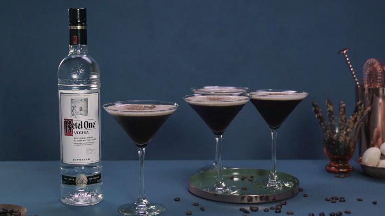 Ketel One: Espresso Martini cocktail