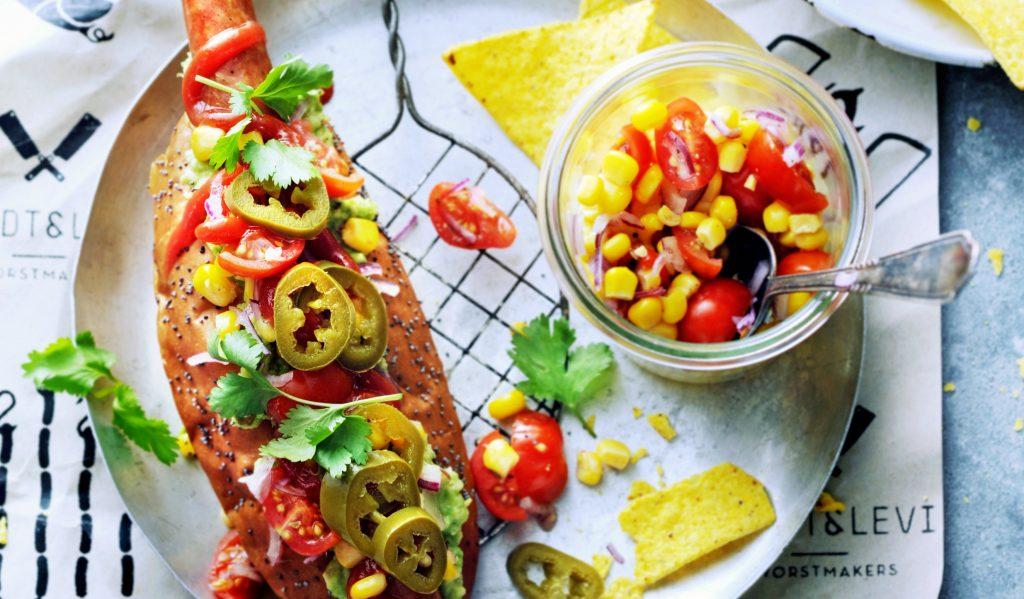 mexicaanse hotdog | delicious