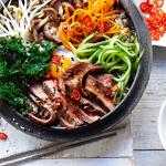 bibimbap koreaans entrecote | delicious