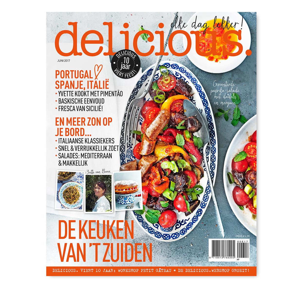 Afbeeldingsresultaat voor delicious magazine nederland cover