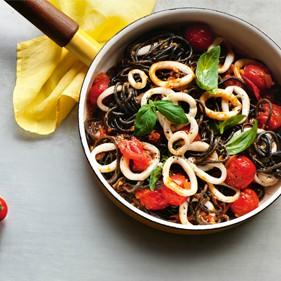 zwarte pasta