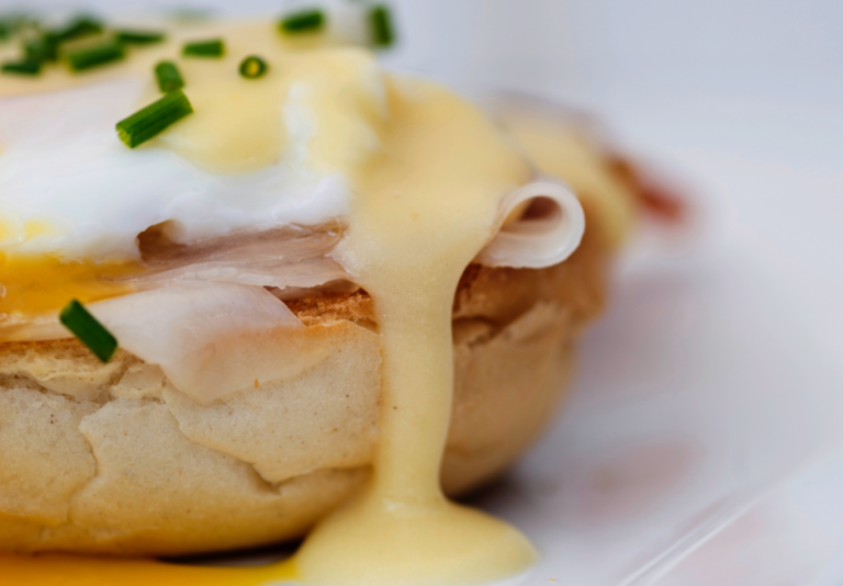 eggs benedict met real english muffins