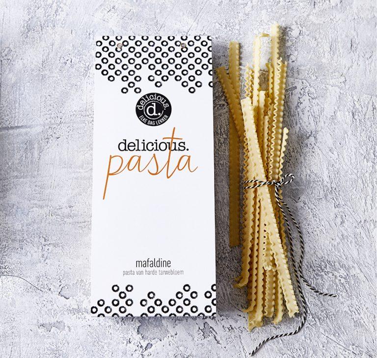 delicious. pasta mafaldine