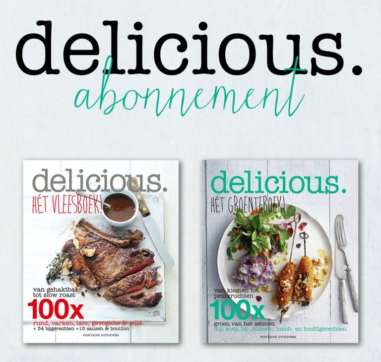 Geef 13 x delicious. + krijg zelf hét groenteboek! + hét vleesboek!