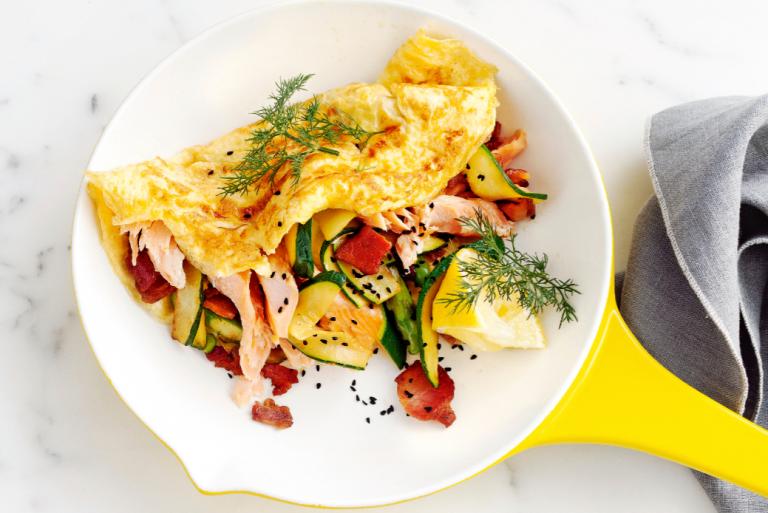 3x omelet: frans, spaans en italiaans