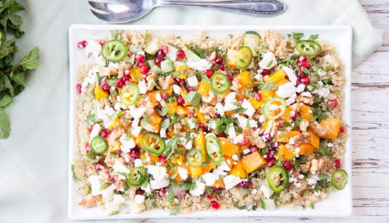 caribische quinoa salade