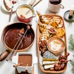 ruige chocoladefondue delicious.