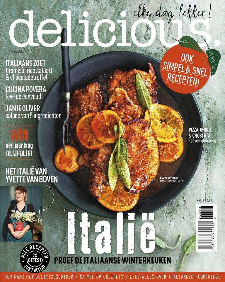 delicious. editie 3 – maart 2018