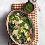 Schelvisschotel met knolselderij en palmkool | delicious