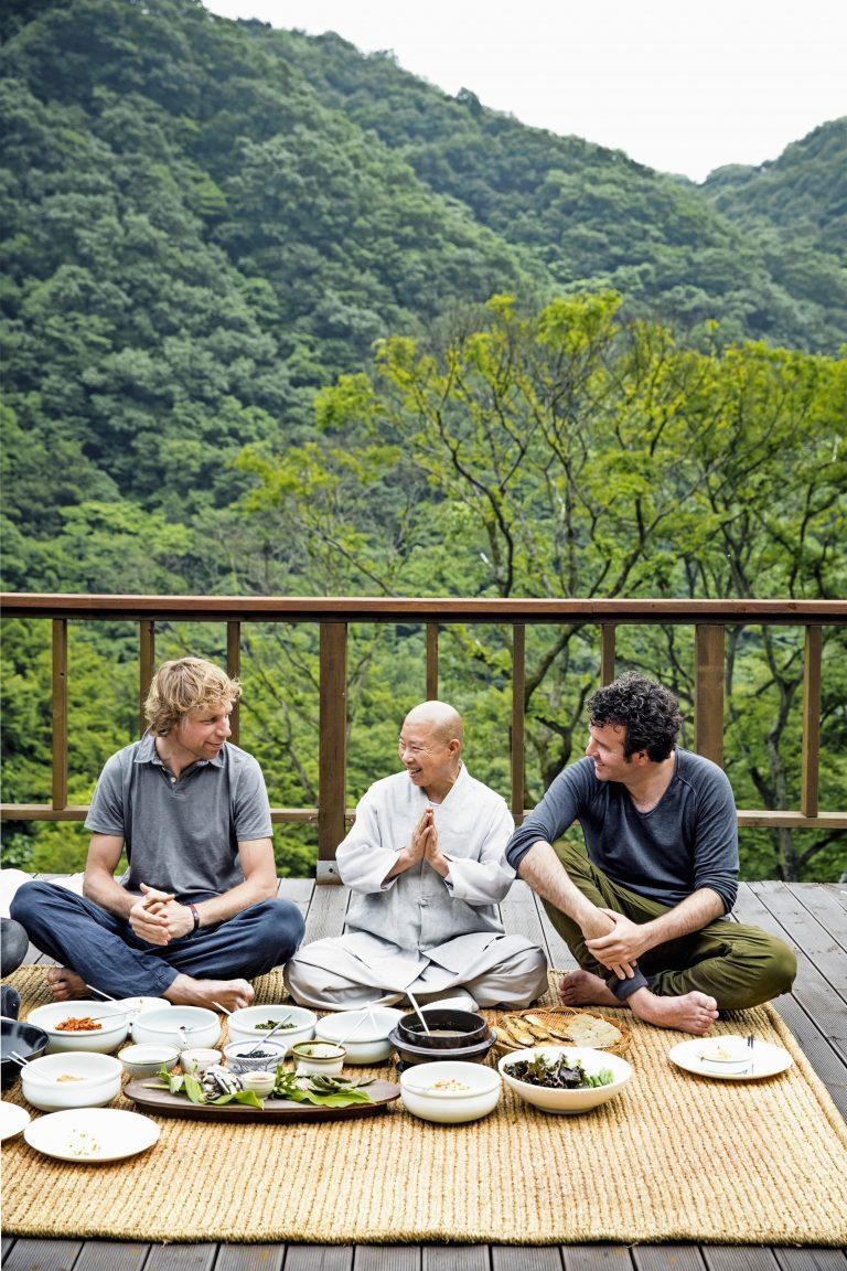 de veganistische tempelkeuken van Jeong Kwan