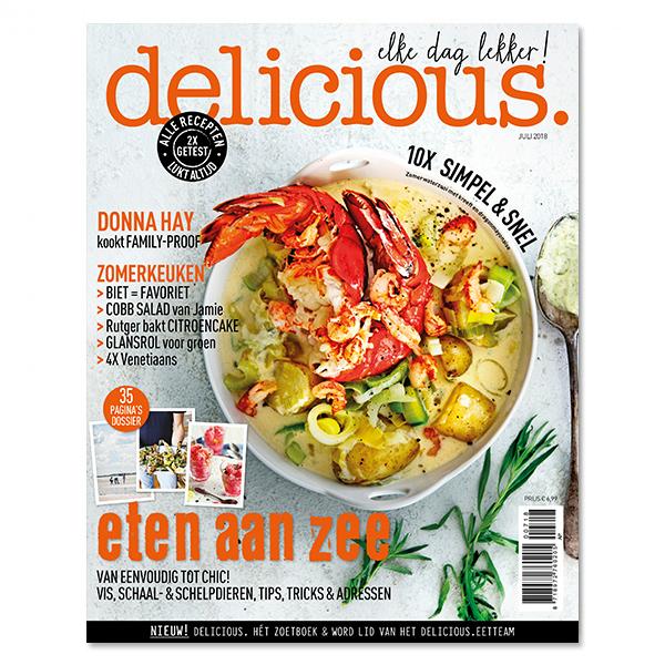 delicious. editie 7 - juli 2018 Losse edities