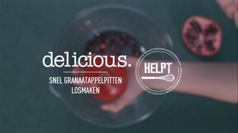 VIDEO | delicious.helpt: snel granaatappelpitten losmaken