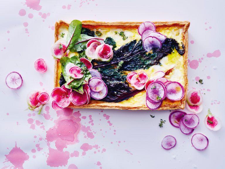 groentetaart met snijbiet | delicious