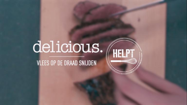 VIDEO | delicious.helpt: vlees op de draad in snijden