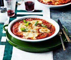 aubergine parmigiana | delicious