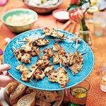 pittig zoete kipspiesen | delicious