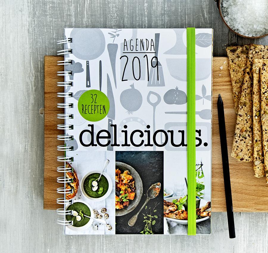 delicious. agenda 2019 Boeken delicious. boeken Cadeautip