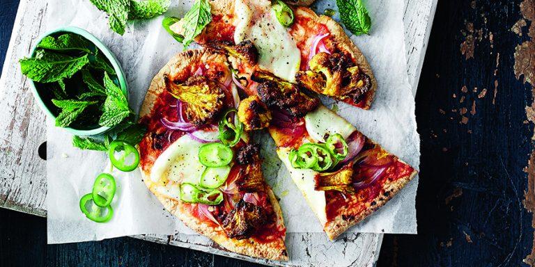 in één uur heerlijke pizza's