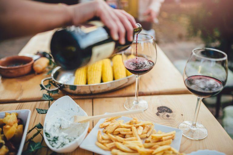 bbq wijn