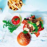 italiaanse burger | delicious