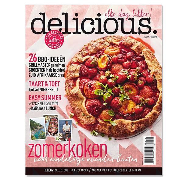 delicious. editie 8 - augustus 2018 Losse edities