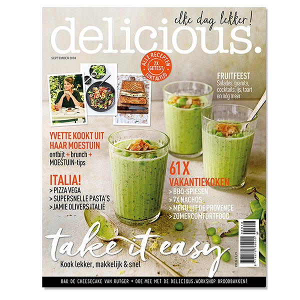 delicious. editie 9 - september 2018 Losse edities