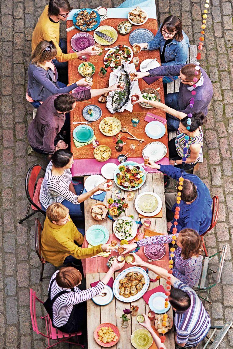 de lekkerste gerechten voor een grote groep