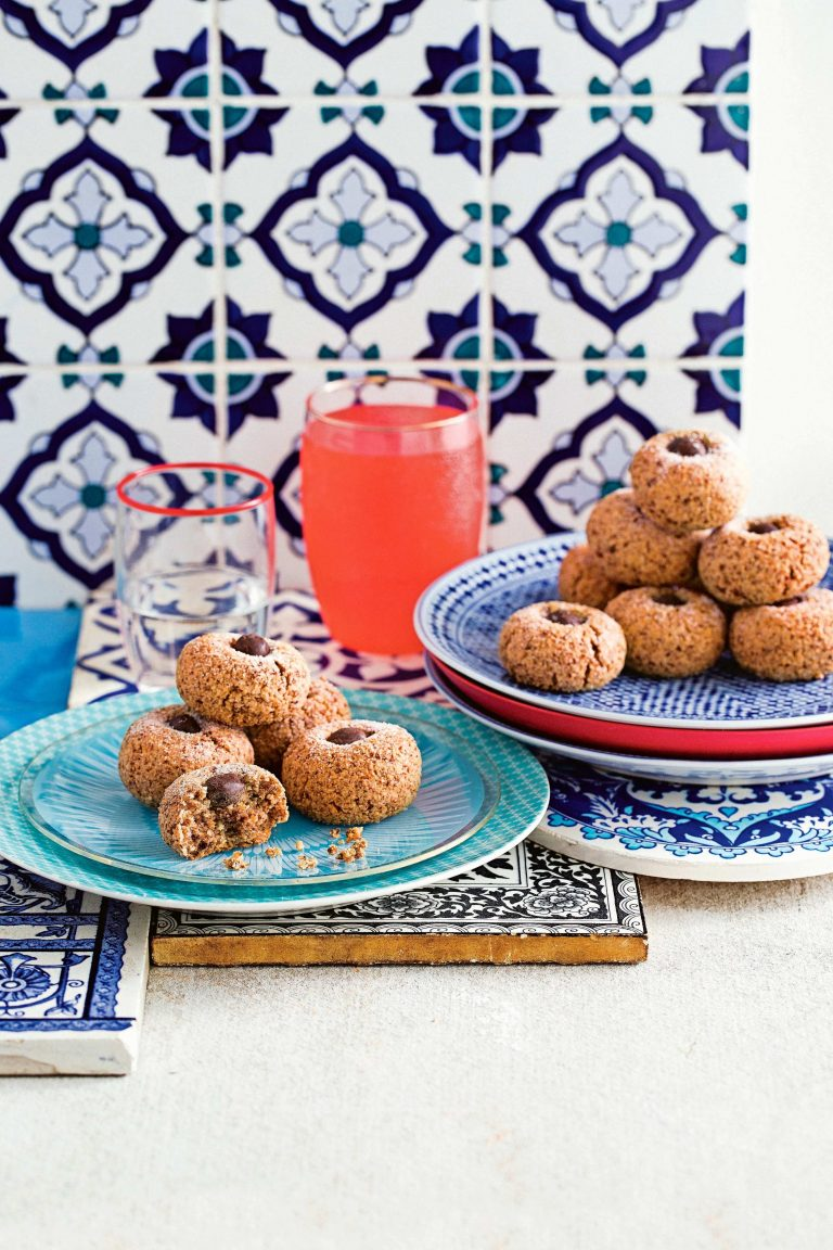 hazelnoten-amaretti met mokka - delicious